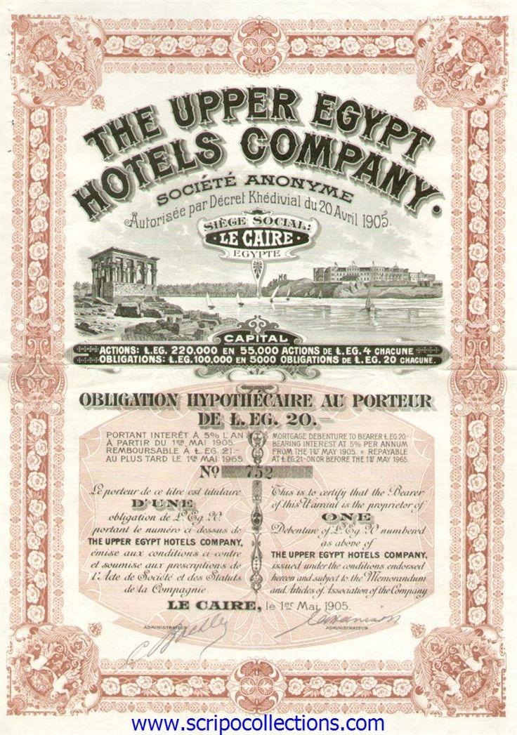 Upper Egypt Hotels Co SA/ The