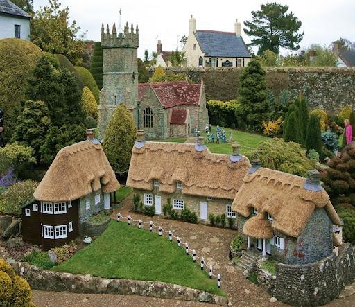 33 Best Miniature Villages Images On Pinterest
