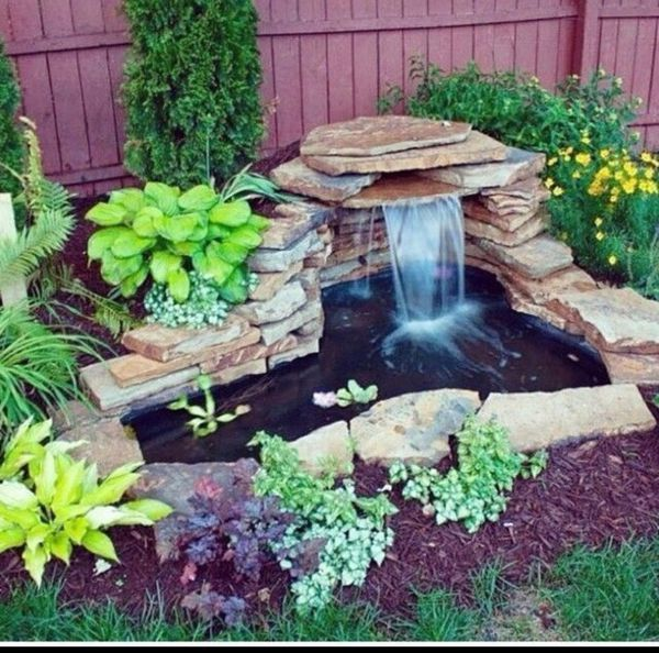 New Never Used We Build The Pond Of Your Dreams Like It Was Created By Nature Price Is Based Upon Si Ponds Backyard Diy Garden Fountains Waterfalls Backyard