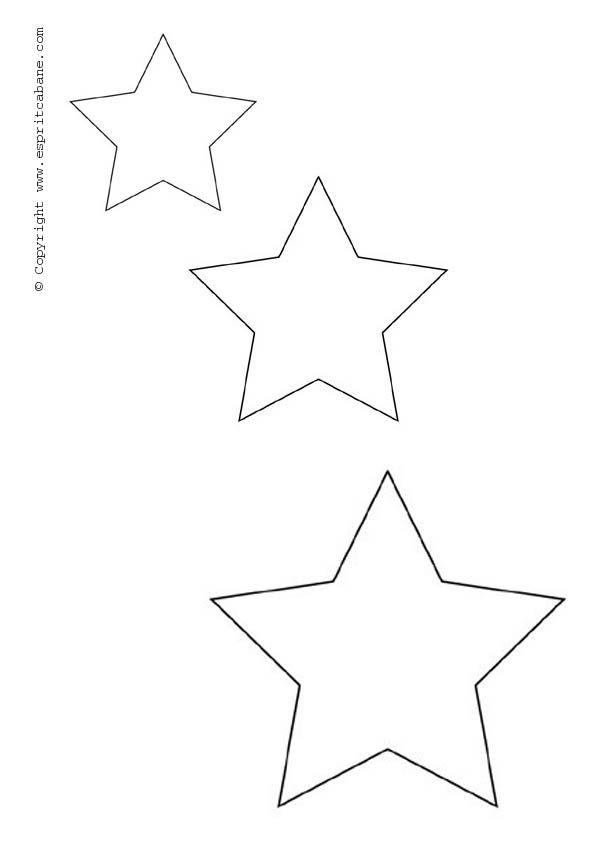 Шаблон звезды для открытки на 9 мая распечатать, рождества