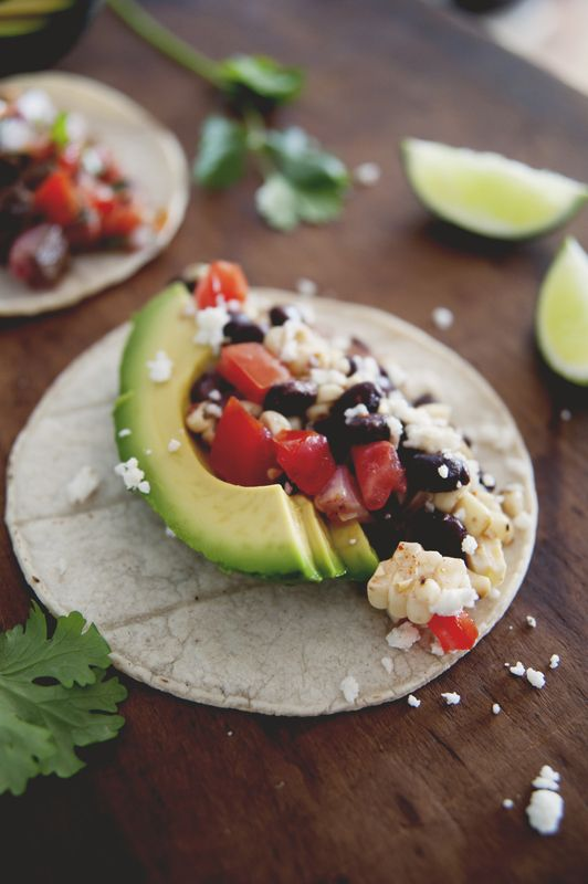 Taco Night: Black Bean Corn Salsa Tacos. | Recipes, Year III | Pinter ...