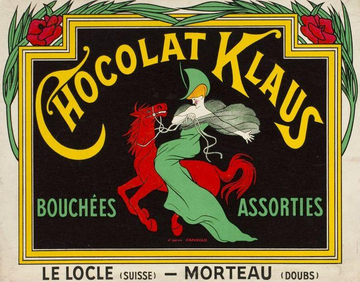 Chocolat Klaus.Leonetto CAPPIELLO (1920 circa)