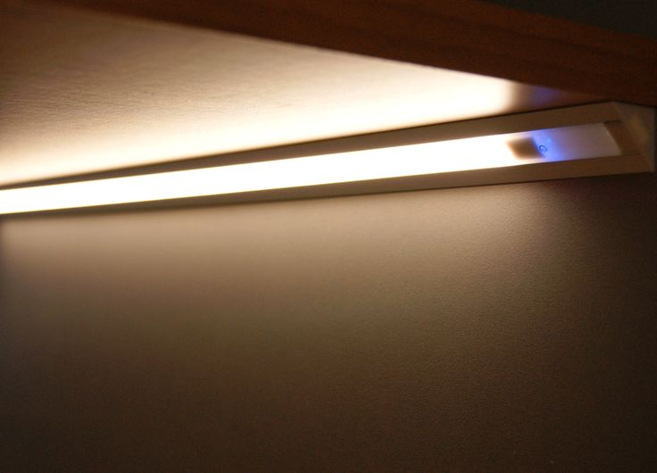 Undercabinet led lighting  Design by Luxelt Italy