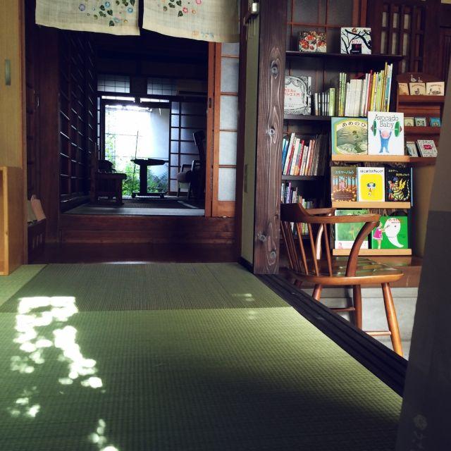 acicombさんの、和と洋の融合,土間のある暮らし,着付け教室を作る,畳,のお部屋写真