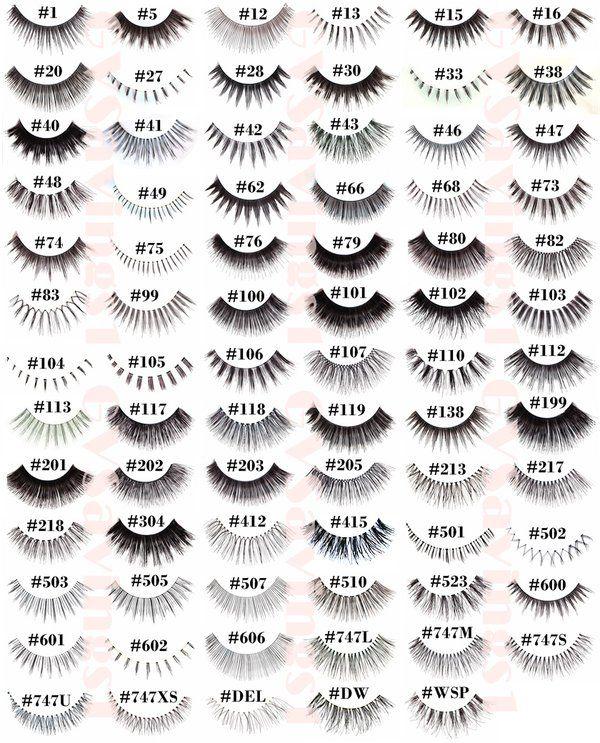 Pick Any 10 Pairs Red Cherry False Eyelashes Fake Lashes Individual Lot Pack | eBay