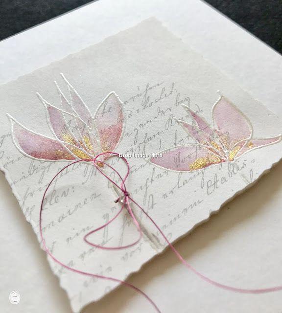 Alexandra Renke – Magic Flowers, Embossed, Painted…