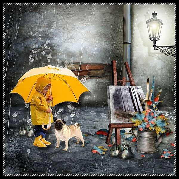 вышивка дождь картинки - Поиск в Google