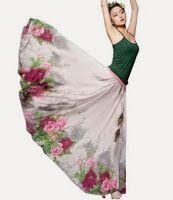 floral maxi dress: Long Floral Maxi Dress