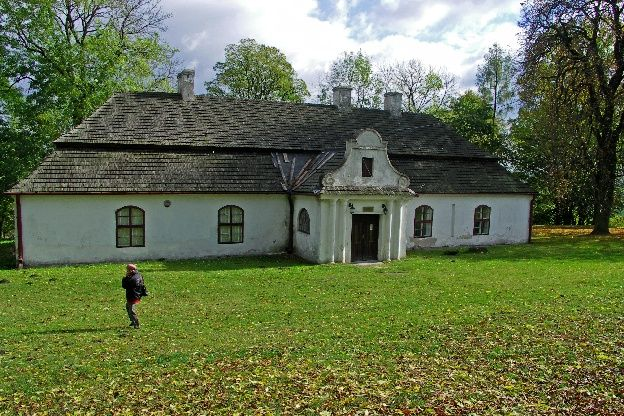 Dwór Małachowskich w Bąkowej Górze