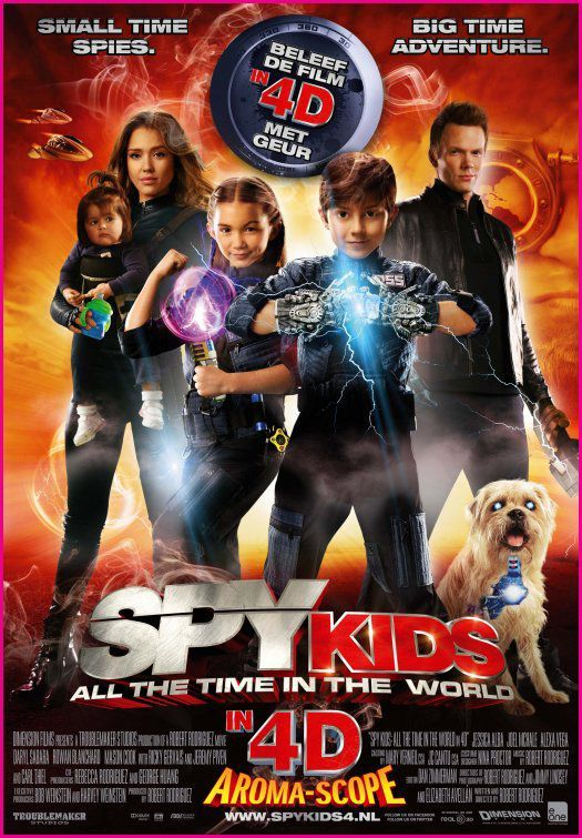 Spy Kids 4 ~ All the time in the world