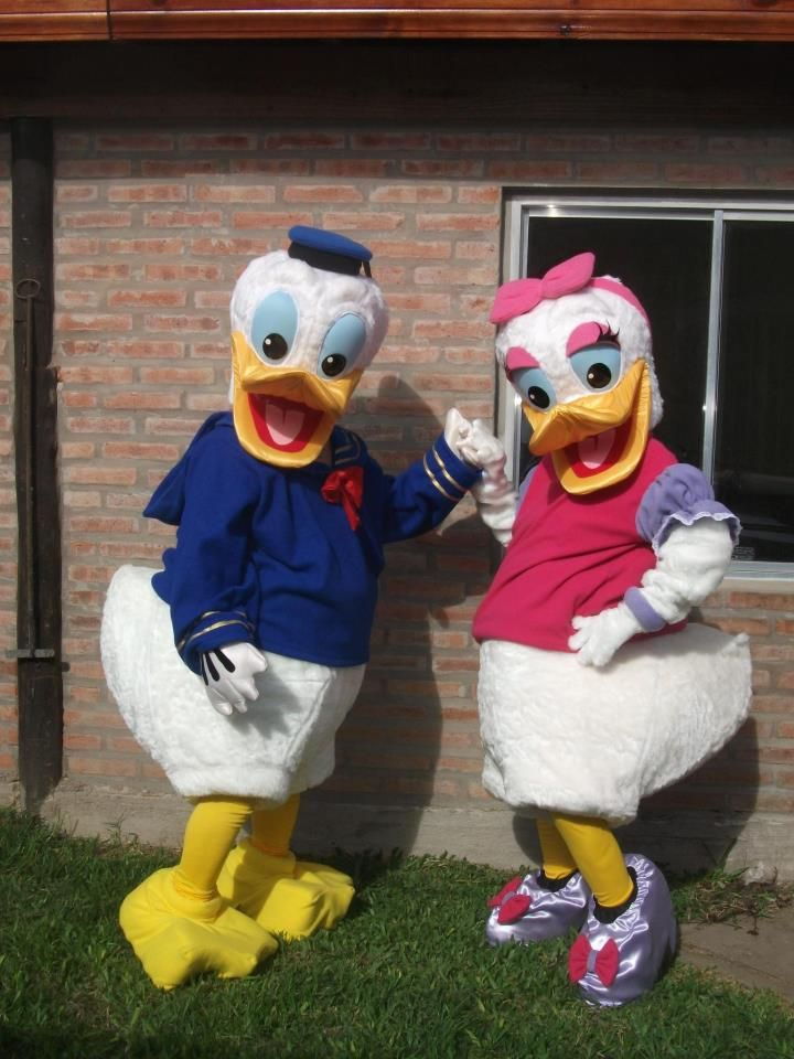 Daysie y Pato Donald