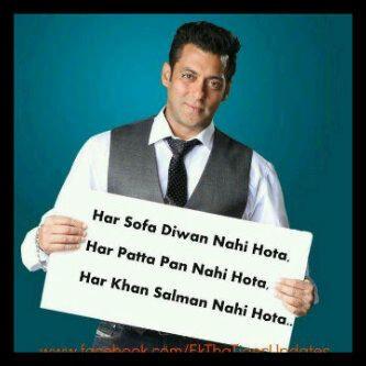Salman Khan quote