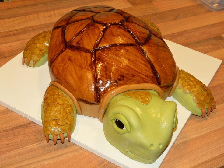 cake turtle