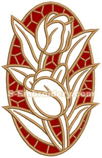 Advanced Embroidery Designs - Cherry Cutwork Applique Lace - Google Search