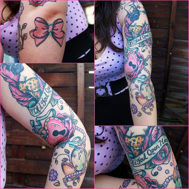 Rockabilly Tattoo Sleeve Ideas images
