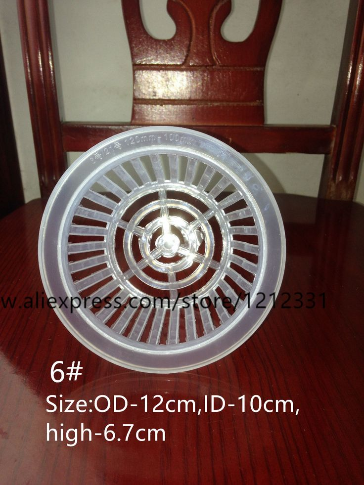 Free shipping,10pcs,6#,Flower water culture colonization basket.Hydroponics plant,OD-12cm,Solid root device,garden wholesale