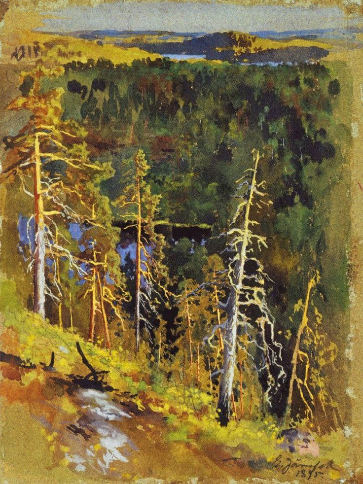 Metsämaisema by Eero Järnefelt