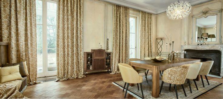 25 beste idee n over voile gordijnen op pinterest vitrage gordijnen knippen en fluwelen - Gordijnen interieur decoratie ...