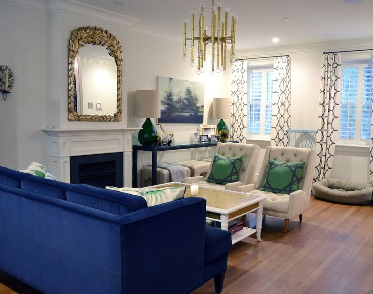 17 Best Images About Modern White Navy Green Room On