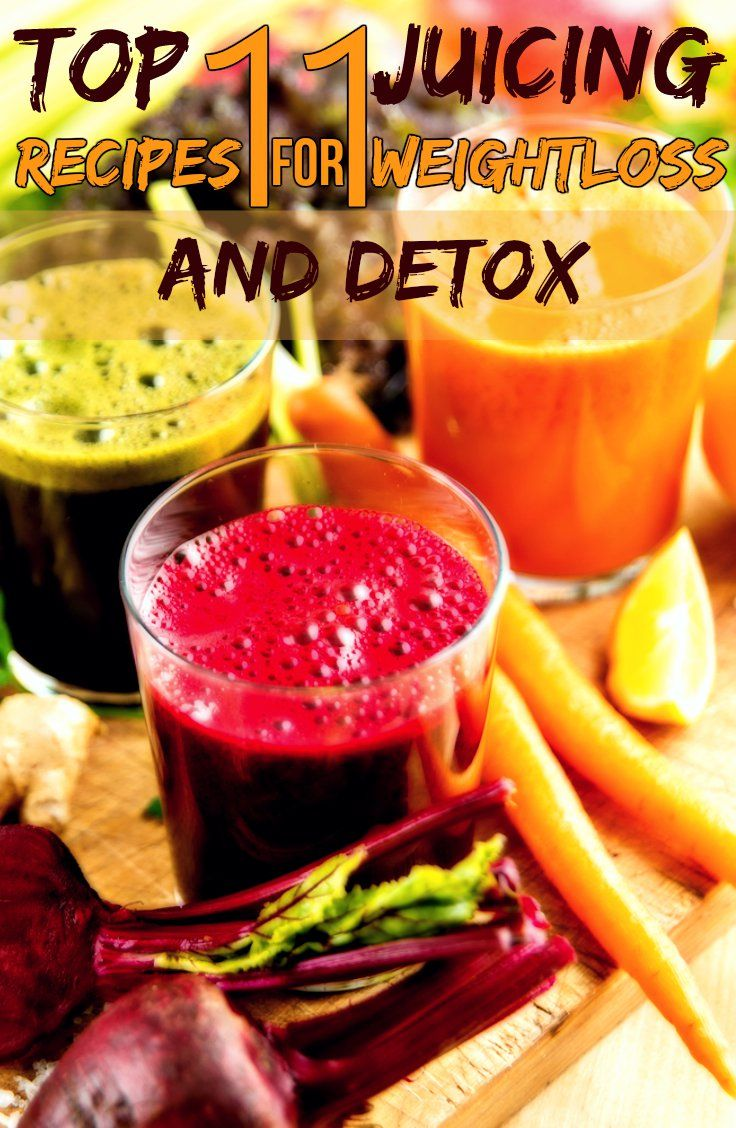 THE TOP 11 JUICING RECIPES FOR WEIGHT LOSS AND DETOX