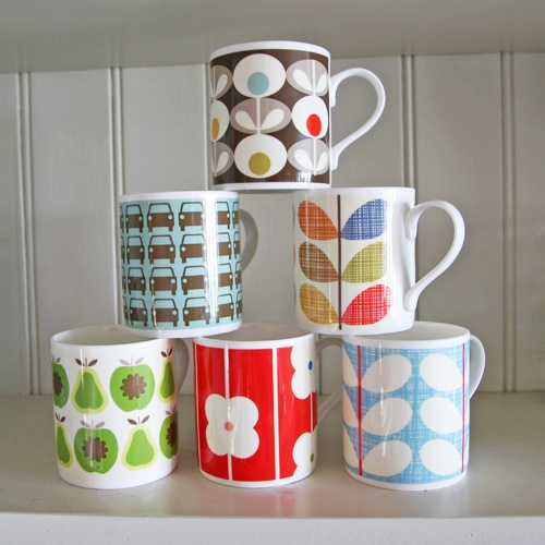 Lovely Orla Kiely mugs