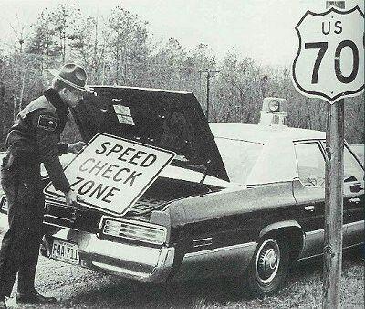 Vintage North Carolina Highway Patrol Trooper