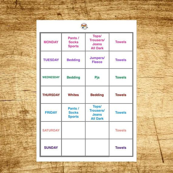 Hello and welcome, This Printable Laundry Planner is designed to revolutionise your Laundry routine. This is due to its Unique key feature which is customisation everything inside the sections of the chart will be customised and personalised just for your household needs. The