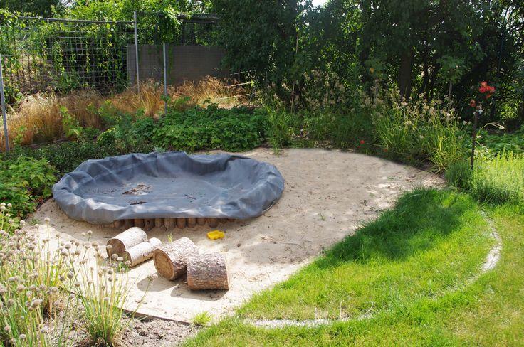permakulturní zahrada - jedlá zahrada s pískovištěm