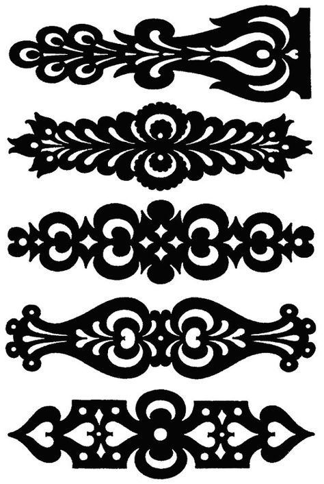 Hungarian Banners Larger Size Clear Stamp*vector*