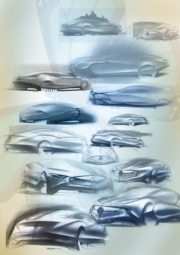 Concept sculpture  sponsored by Mercedes-Benz Design