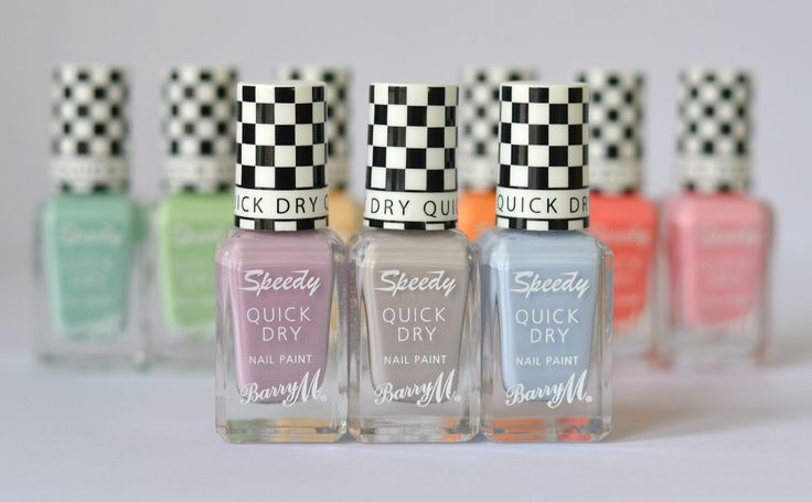 London Beauty Queen: A Polish That Lives Up To It's Claims: Barry M 'Speedy Quick Dry'