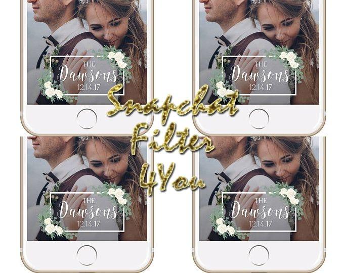 Personalized Snapchat Filter Wedding Snapchat Geofilters Wedding Wedding Snapchat Filter Wedding Snapchat