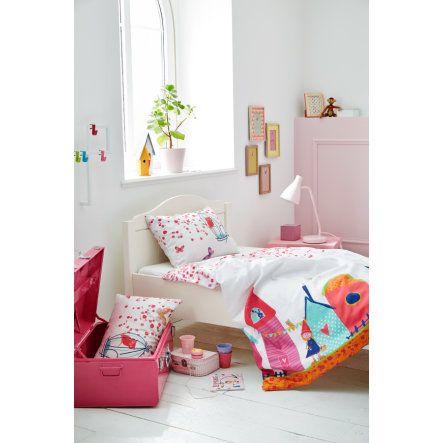 s.OLIVER Kinderbettwäsche Schloß pink 135x200 cm bei baby-markt.at - Ab 20 € versandkostenfrei ✓ Schnelle Lieferung ✓ Jetzt bequem online kaufen!