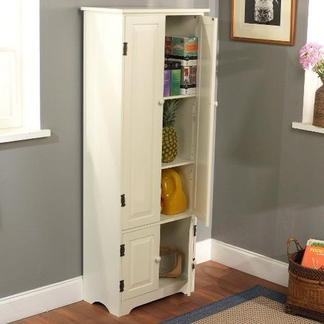 Double Doors Kitchen Cabinets Cereal Closet
