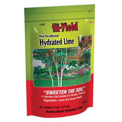 Hi Yield 33371 Horticultural Hydrated Lime 5 Lbs Soil Ph