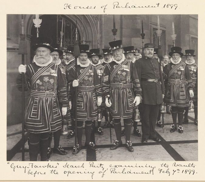 'Guy Fawkes' search party by Benjamin Stone, National Photographic Record and Survey, 1899. l Victoria and Albert Museum