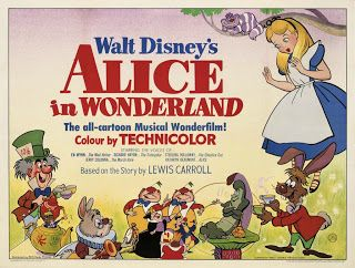 Vintage Disney Alice in Wonderland: Finally! An image of an English Quad!