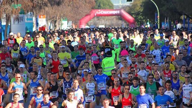 La media maratón de Sevilla agota sus dorsales