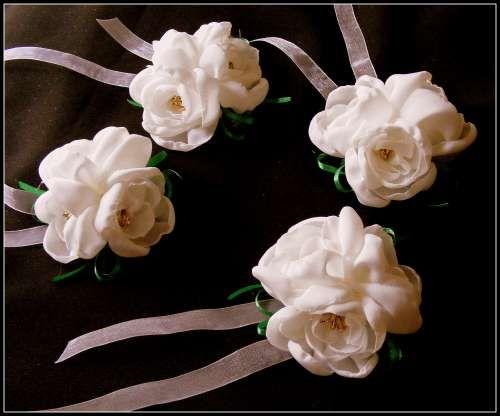 magazin din Marea Britanie super ieftin cumpărare acum bratari domnisoare de onoare corsaje de mana cu flori artificiale ...