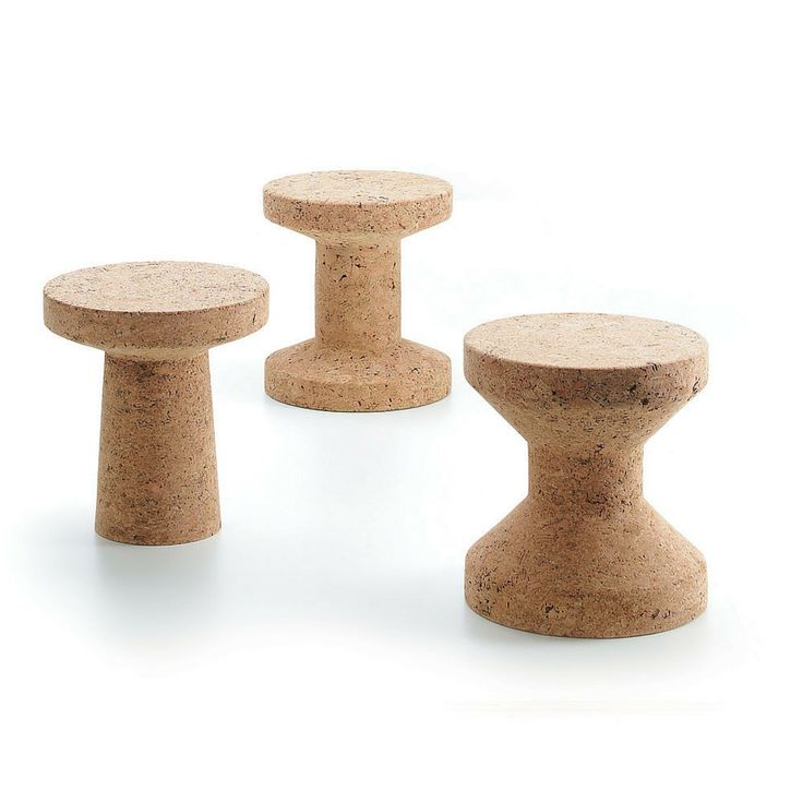 Jasper Morrison Cork Stools, fun and practical #placesandgraces #curated…