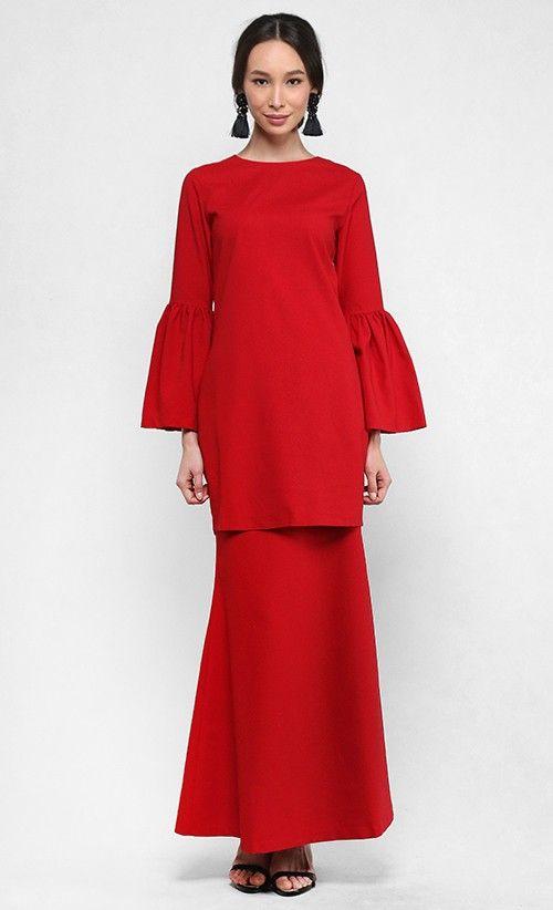 Kate Kurung in Red
