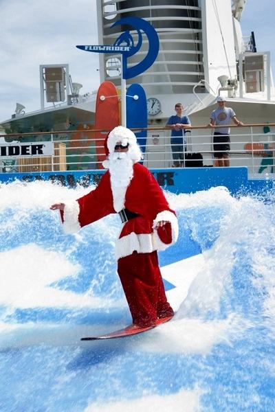 Santa Claus on #Flow Rider