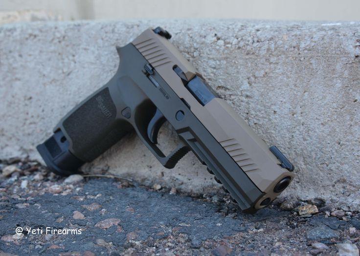 X-Werks Sig P320 TACOPS 9mm 320F-9-BSS-TACOPS NS Magpul FDE OD Cerakote 4x 21rnd Mags TFO No CC Fee Guns > Pistols > Sig - Sauer/Sigarms Pistols > P320