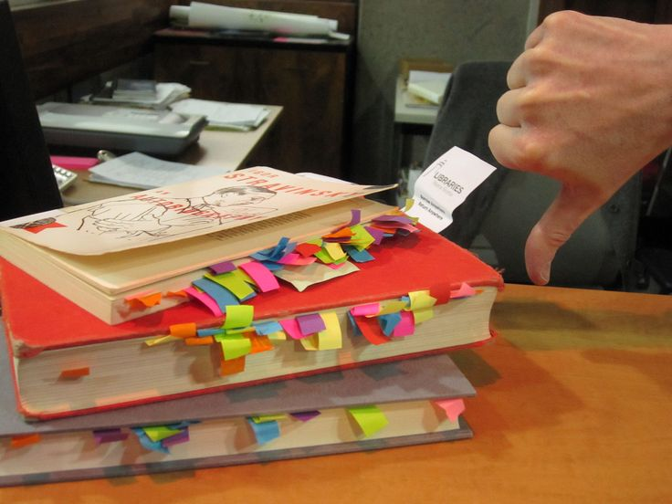 Actually this is library stuff we DON'T like--please take the post-its out of our books before you return them!: Book, First Date