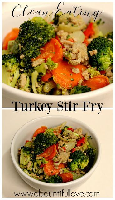 Clean Eating Turkey Stir fry - cheap meal,quick, easy and healthy. 21 Day Fix approved to boot! Loose weight while eating clean.