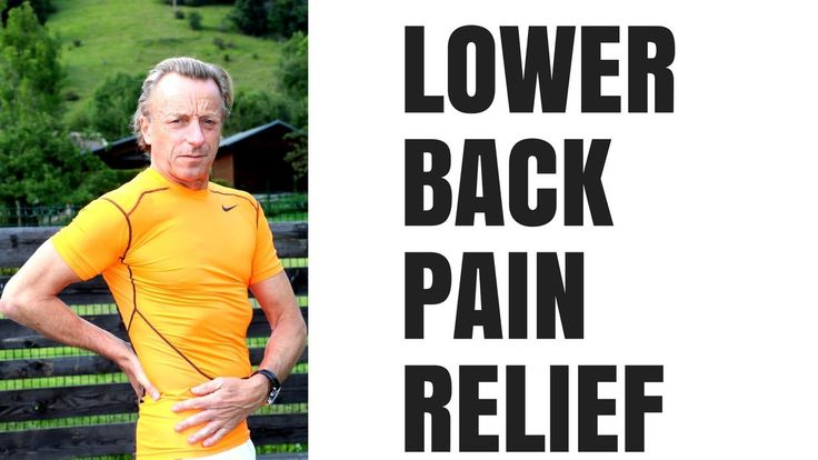6 Stretches for low back pain relief