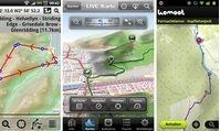 Apps und Tools: Apps: Fahrrad-Navis im Test