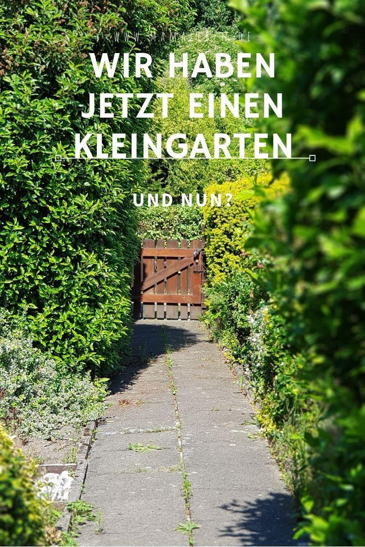 Wir Haben Jetzt Einen Kleingarten Und Nun Mamaleben Kleiner Garten Garten Schrebergarten