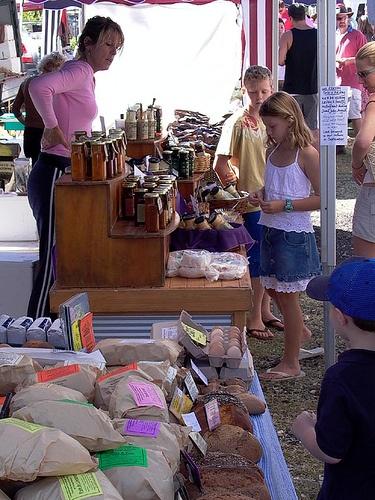 Noosa Farmers Market, Noosa Heads, Queenslands, Australia.