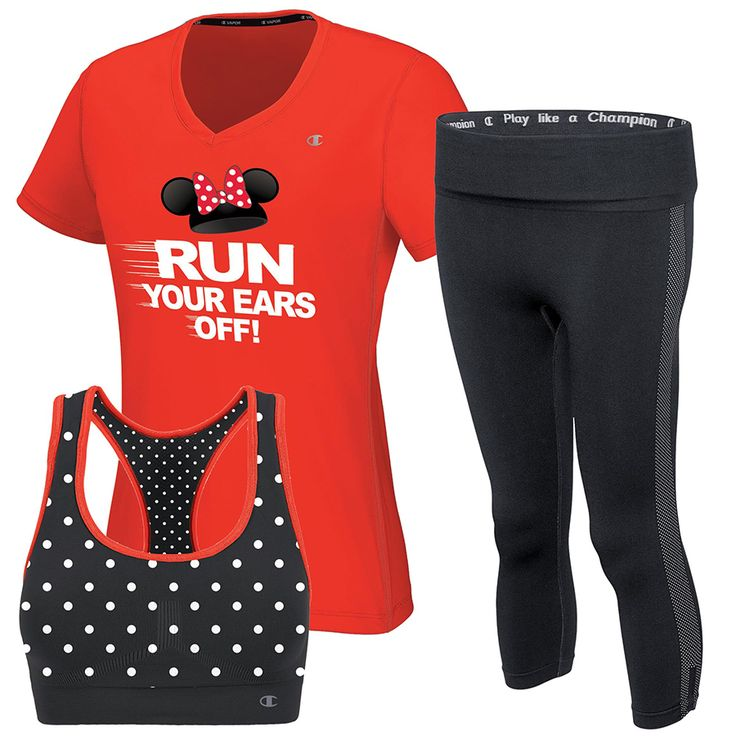 Minnie Run Collection By Champion Athleticwear Coming to 2015 Walt Disney World Marathon Weekend